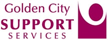Golden City Support Services Logo