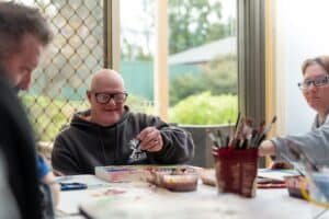 Creative Links is a hub where individuals meet and are supported to connect with their interests in the community, at Golden City Support Services.
